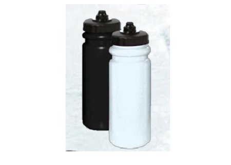850ml Water bottle with pro style lid (black)