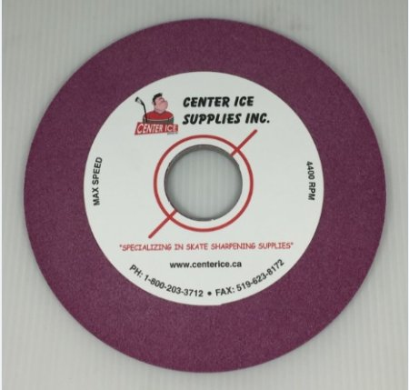 """Ruby 80 Grit 6"""" x 1/4"""" x 1.26"""" Cag One Grinding Wheel"""