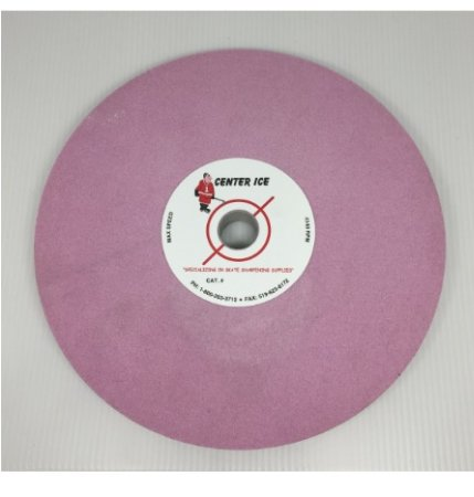 "Pink 60 Grit 8"" x 3/4"" x 3/4"" Crossgrind Wheel"