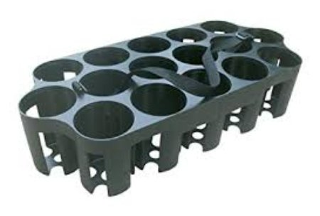 Bottle Carrier - Holds 16 CI-H20-1(6)/H20-2(7) or combination