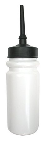 850ml water bottle with flexible extended tip