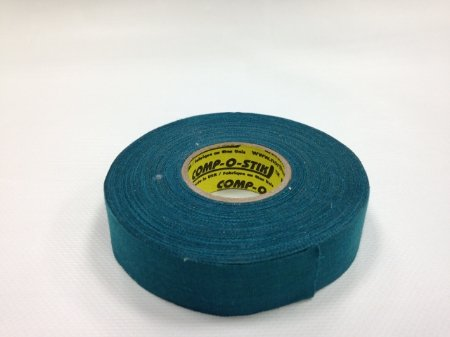 Pack of 6 Coloured Cloth Tape (24mm x 25m) - Teal