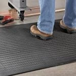 Fatigue mat to provide relief while standing (6' x 2')