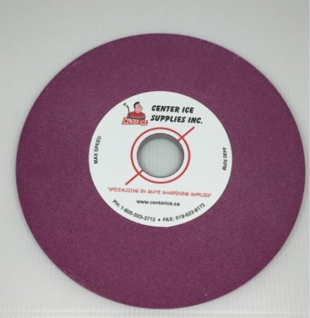 "Ruby 100 Grit 8"" x 5/16"" x 1-1/4"" Grinding Wheel"