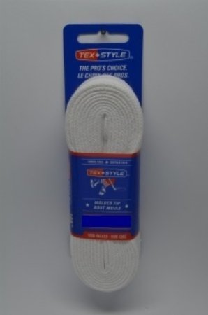 """Referee plain white spun 100% polyester 120"""" (Package of 24 pairs)"""