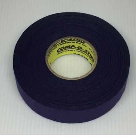 Pack of 6 Coloured Cloth Tape (24mm x 25m) - Purple