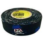 Pack of 6 Coloured Cloth Tape (24mm x 25m) - Jolly Roger (Skull)